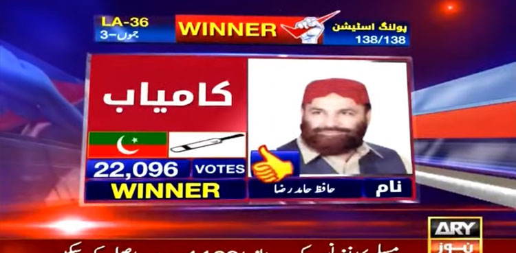 LA 36 AJK Election live updates: Unofficial Results Get Latest Updates