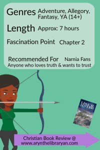Girl Archeron green background. The Arrow Bringer is a 7 hour read, fascination point: by Chapter 2. Recommended for Narnia fans
