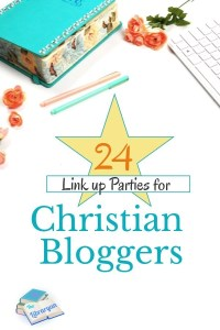 Christian blogging Linkup parties