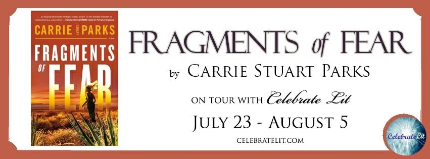 Carrie Stuart Parks: Fragments of Fear tour banner