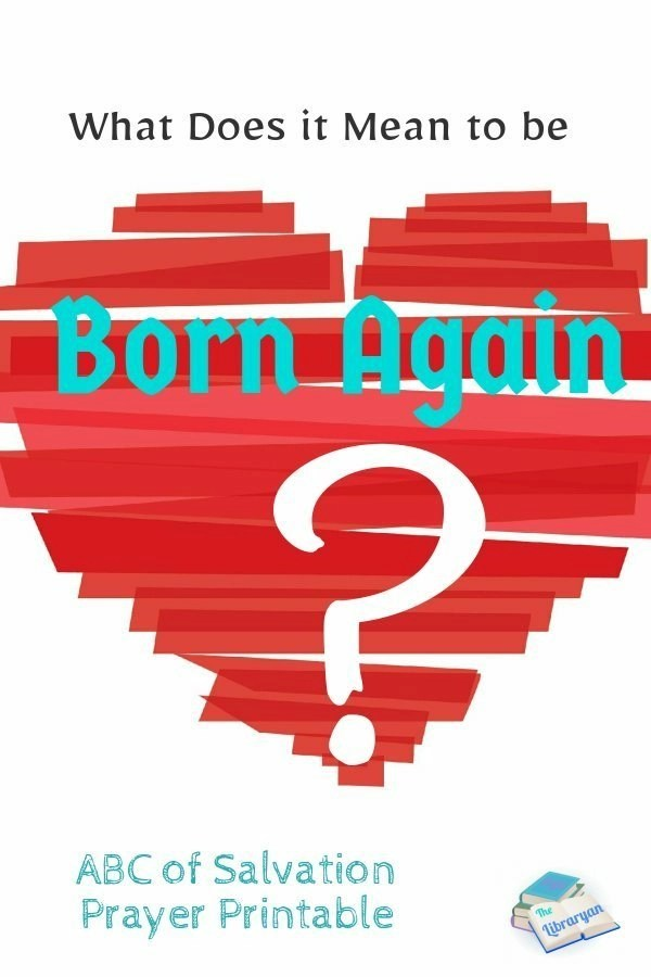 Crayon red heart. What does it mean to be born again? 3 steps to salvation