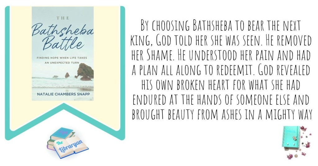 By choosing Bathsheba to bear the next king, God told her she was seen. He removed her Shame. He understood her pain and had a plan all along to redeem it. God revealed his own broken heart for what she had endured at the hands of someone else and brought beauty from ashes in a mighty way. The Bathsheba Battle.