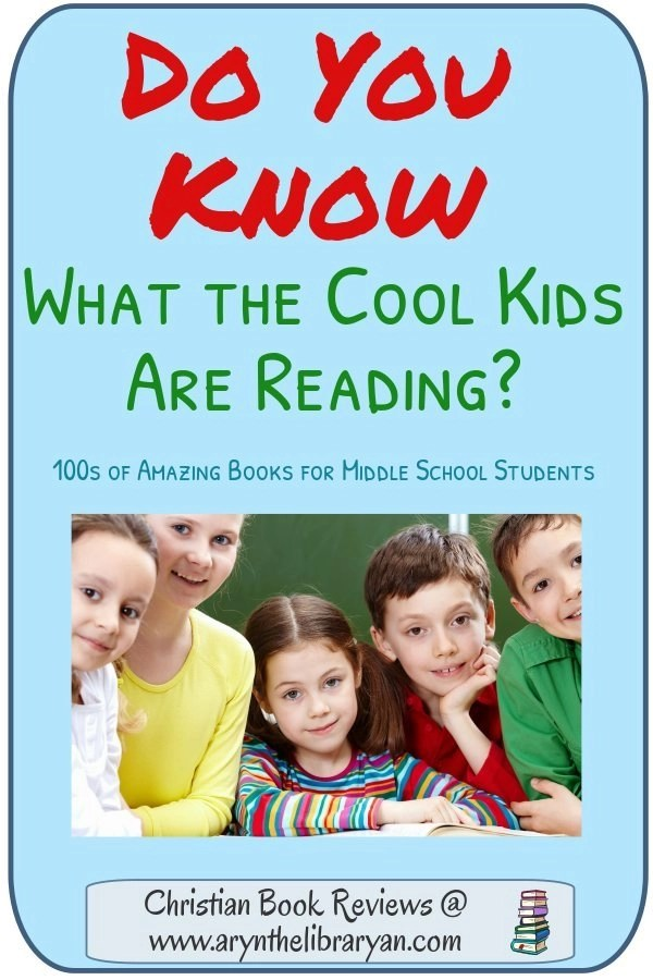 Do you know what the Cool Kids are Reading? 100s od amazing books for middle school students