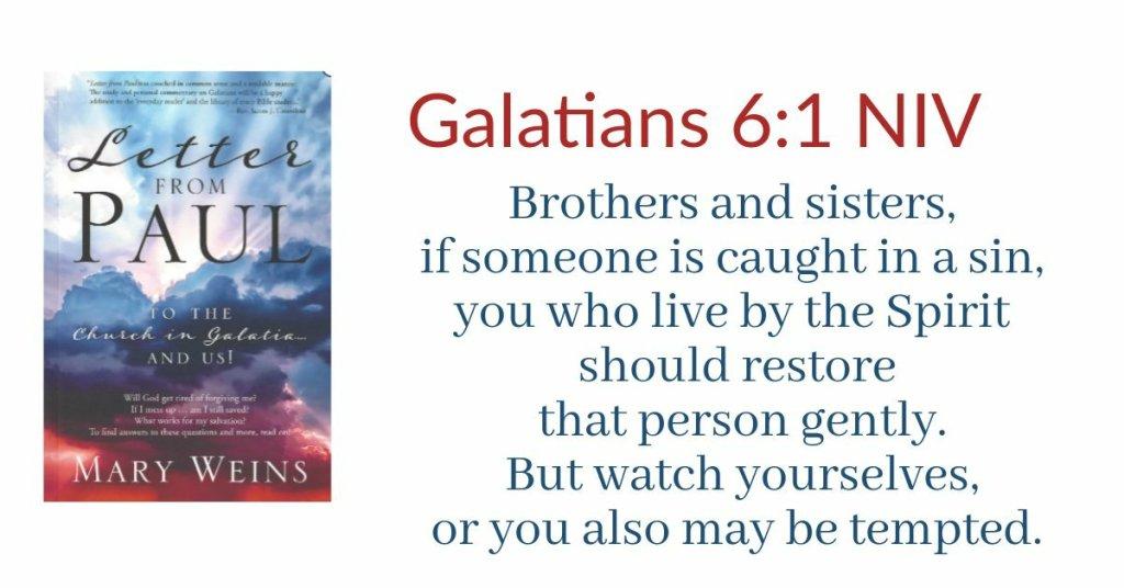 Galatians 6.1