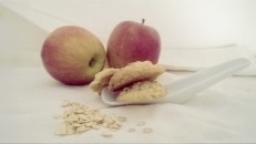Oatmea, Apple and Toffee cookies