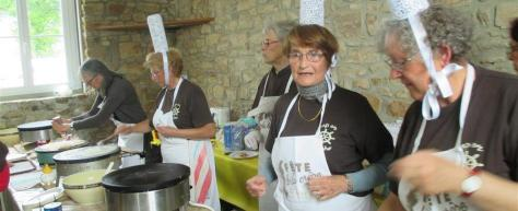 Cuisinières bretonnes
