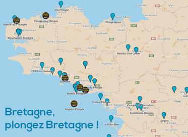 carte-des-centres-de-plongée-sous-marine-en-bretagne