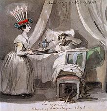 luciafirande_pa_koberg_i_vastergotland_1848-_fritz_von_dardel_-_nordiska_museet_-_nma-0033692