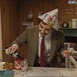 Mr Bean's New Year's Eve party