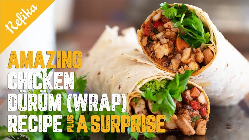 Read more about the article Amazing Chicken Dürüm (Wrap) Recipe & Special Tips 🧙♀️and Tricks🧞♂️to Maximize Its Taste