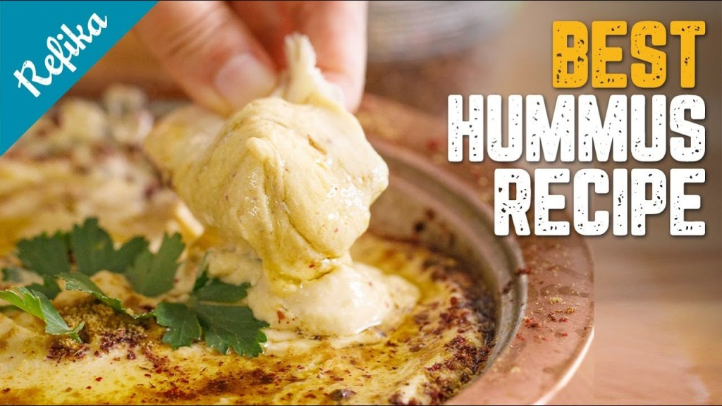 The Best Hummus Recipe You Will Surely Use Whole Your Life!