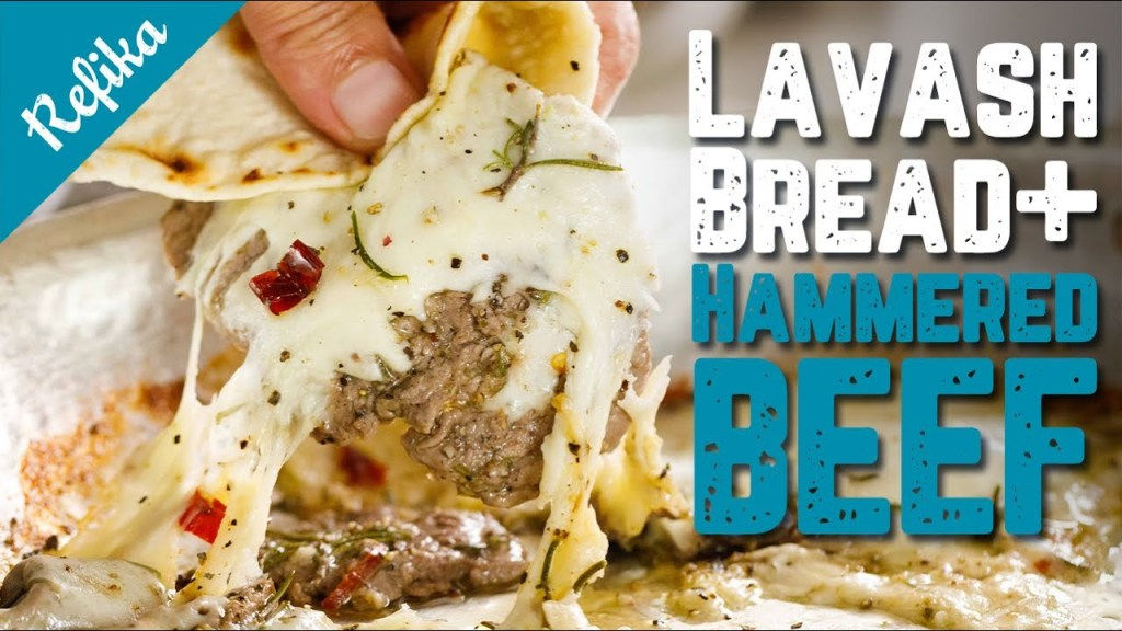 How to Make Lavash & Refika's Epic Hammered Beef Recipe Together!