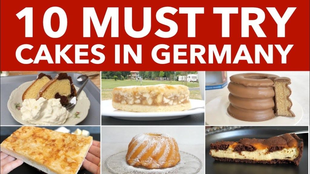 Read more about the article 10 Traditional German Cakes, Authentic German Cakes and Pastries