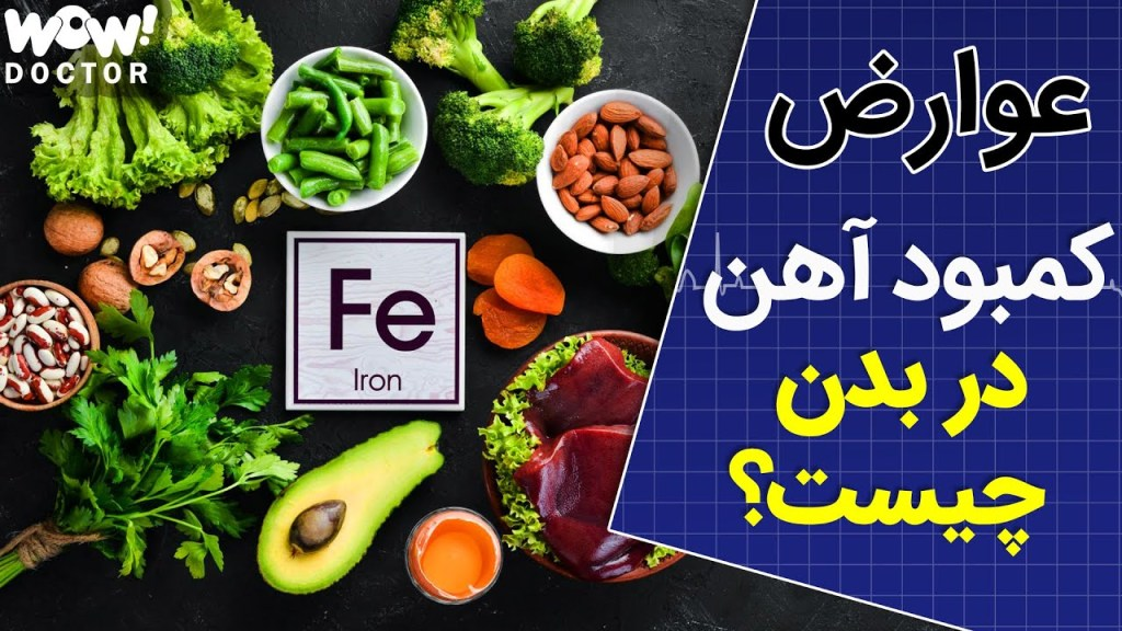 Read more about the article عوارض کمبود آهن در بدن چیست ؟؟؟