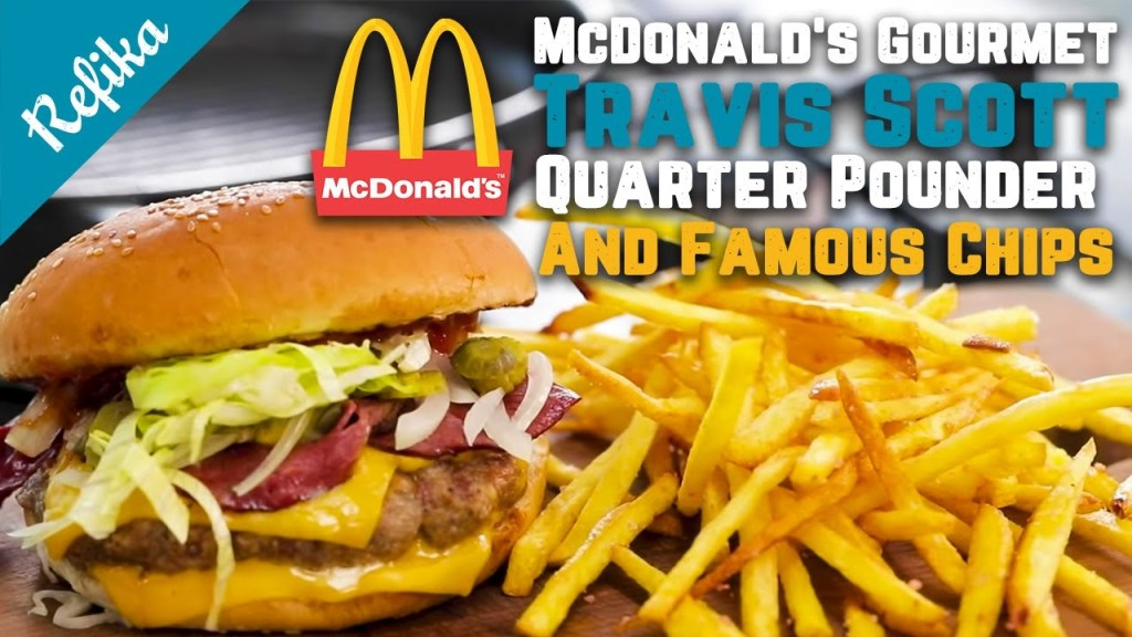 Can You Make McDonald's Travis Scott Burger at Home? `Always Make It Fancy` w/ This GOURMET Version