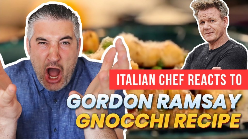 Read more about the article Italian Chef Reacts to GORDON RAMSAY GNOCCHI Video