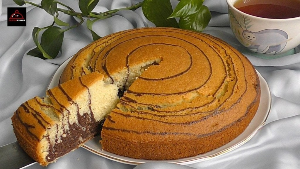 Once You Make it You Will be Addicted – Marble Cake