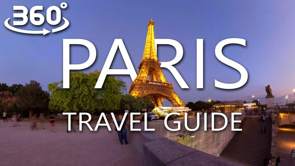 One day in Paris: 360° Virtual Tour with Voice Over
