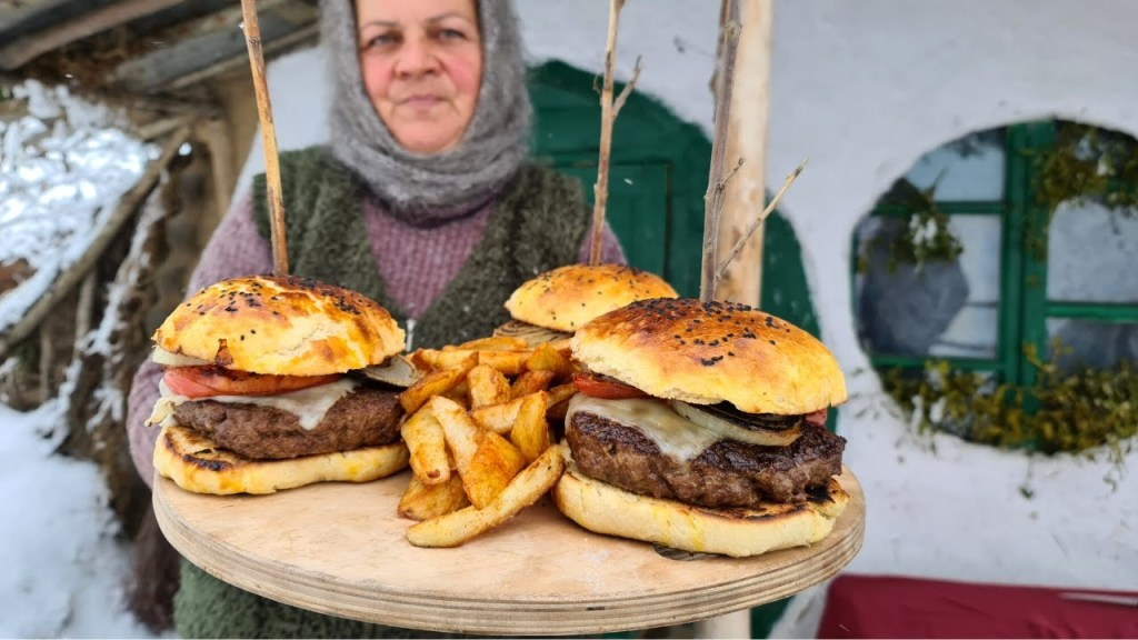 Read more about the article THE BEST LAMB BURGER I'VE EVER MADE , COUNTRY LIFE VLOG
