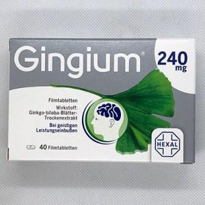 Gingium 240mg  Filmtabletten 40