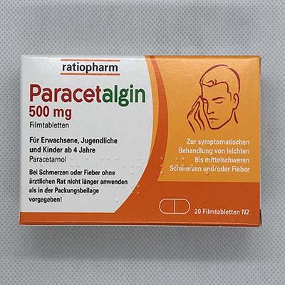 Paracetalgin 500mg ratiopharm Tabletten 20