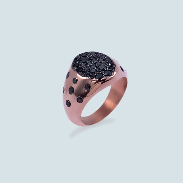Abstract Pinky Ring