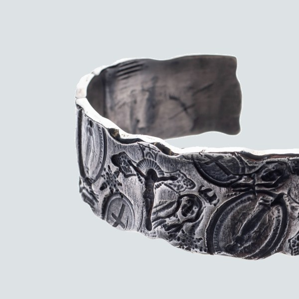 Religion Carved Bangle