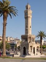 The famous clock tower of Izmir