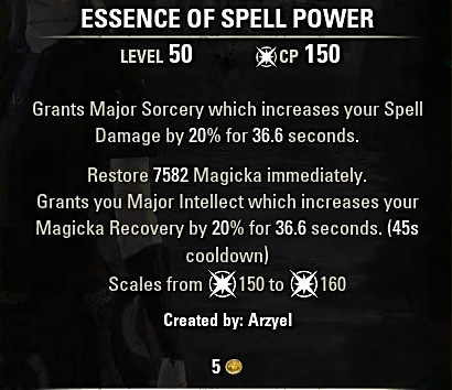 Magicka Sorcerer Pet PVE Build - Overlord - ArzyeLBuilds