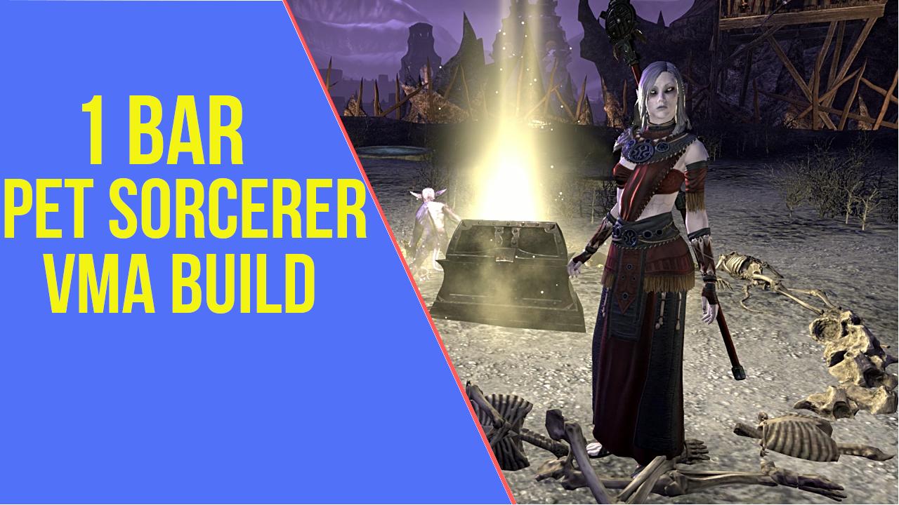 1 Bar Magicka PET Sorcerer Veteran Maelstrom Arena Build