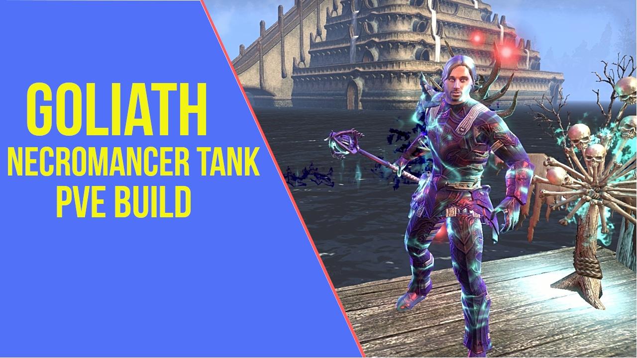 Necromancer Tank PVE Build ESO - ArzyeLBuilds