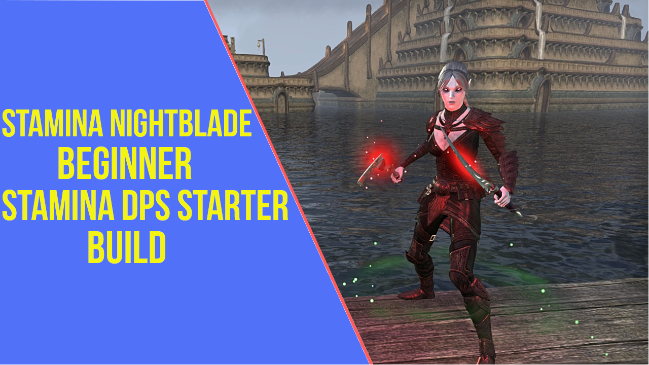 Stamina Nightblade Beginner PVE Build - ArzyeLBuilds