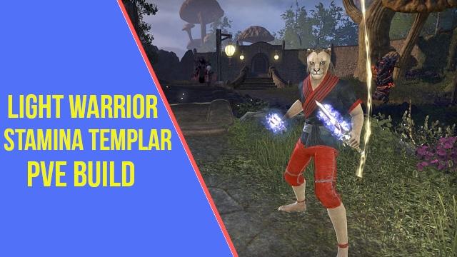 Stamina Templar PVE Build ESO - ArzyeLBuilds