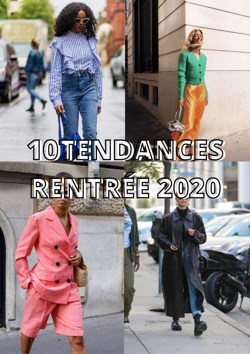 10 Tendances pour la rentrée 2020