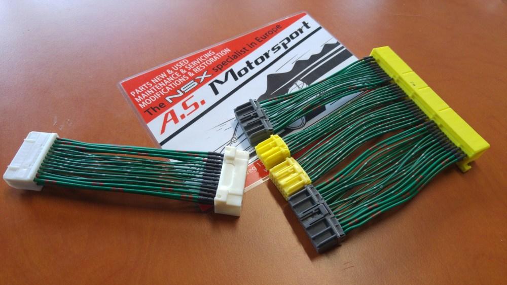 medium resolution of nsx ecu wire harness extension engine nsx catalog a s motorsport