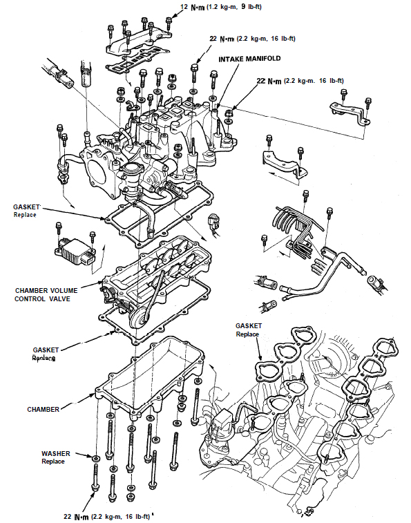 Service manual [How To Remove Intake Manifold 2002 Acura
