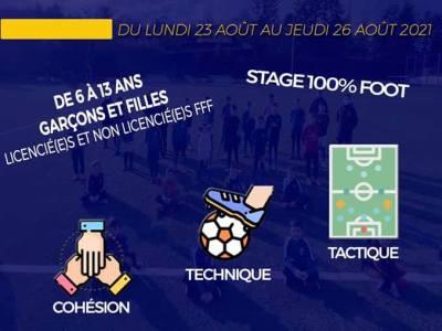 ASSM Foot Saint Martin en Haut | Stage Août 2021