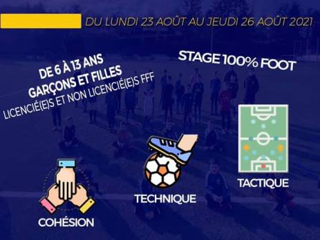 ASSM Foot Saint Martin en Haut   Stage Août 2021