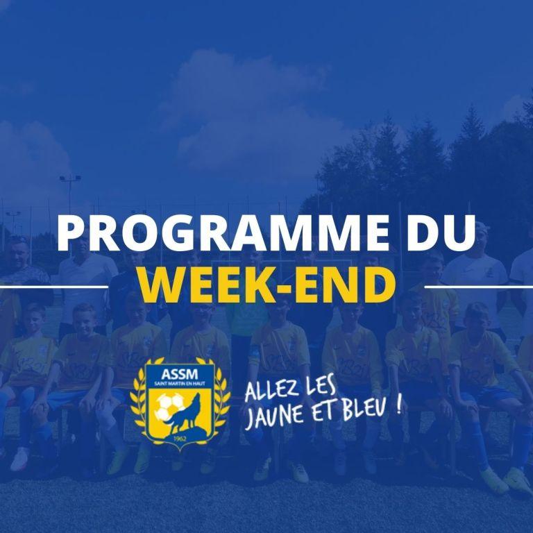 PROGRAMME DU WEEK-END