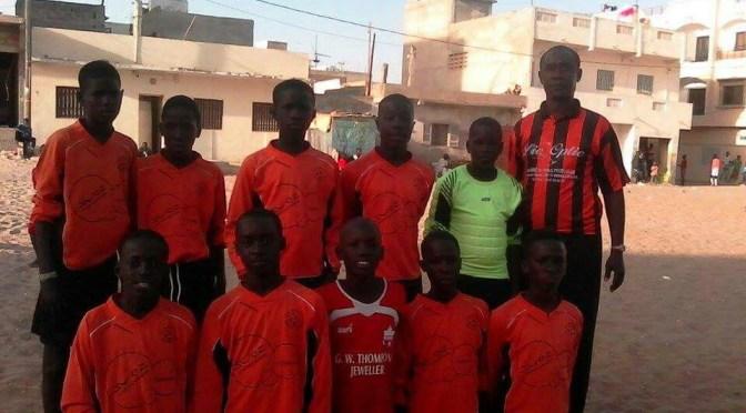Académie foot ASSE  à Dakar