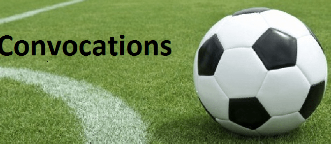 Amical  : Convocations Séniors A