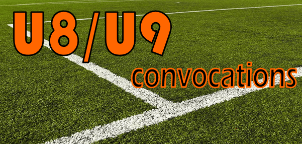 Convocations U9 : Lumbres (mercredi 25/04)