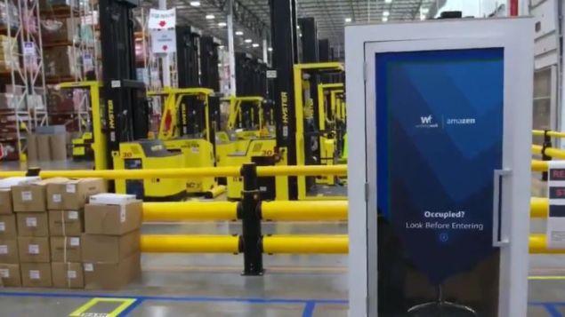 Amazon lanza una cabina para sus trabajadores estresados - AS.com