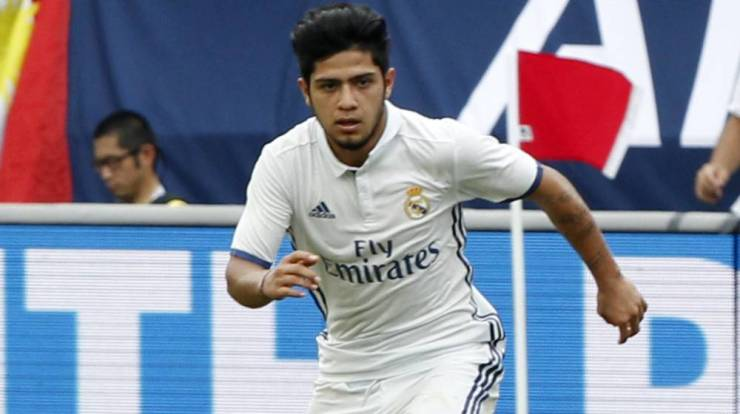 Real Madrid | Sergio Díaz se estrena con el Real Madrid ante el ...