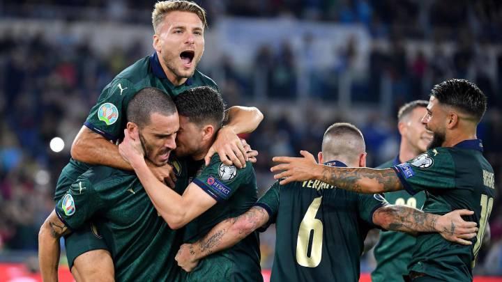 Italia 2 - Grecia 0: resumen, resultado y goles del partido - AS.com
