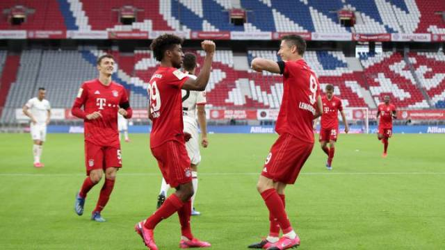 Bayern 5 - Eintracht 2: resumen, resultado y goles. Bundesliga ...
