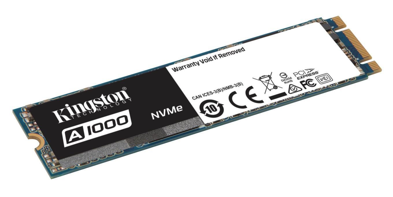 Kingston lanza Unidad de Estado Sólido NVMe PCIe de entrada ...