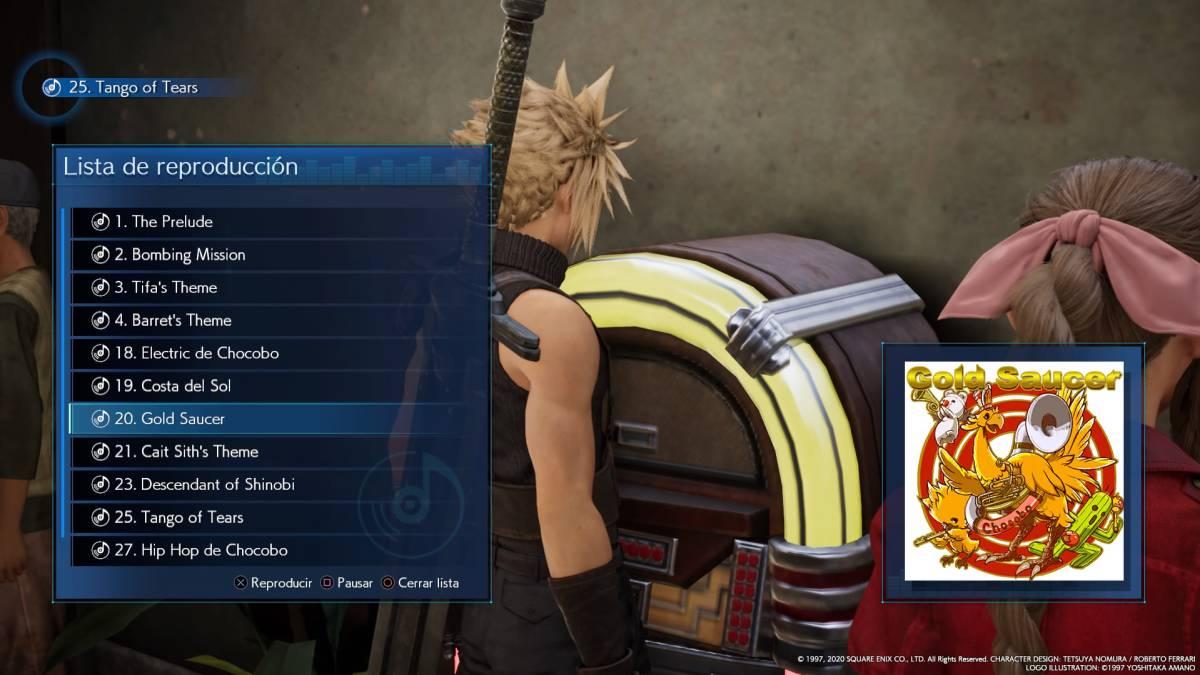 Todos los discos de música en Final Fantasy VII Remake y dónde ...
