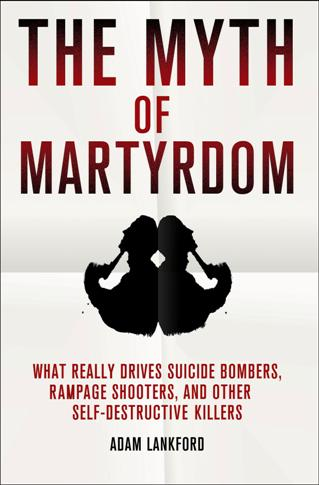 Book cover --- Myth of Martyrdom