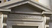 Morgan Hall, home of UA's creative writing program